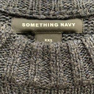 Something Navy Sweaters - Navy Crew Sweater